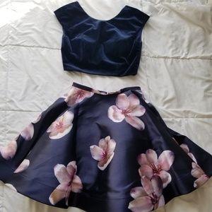 Blush Homecoming/Prom/Winter Formal Dress